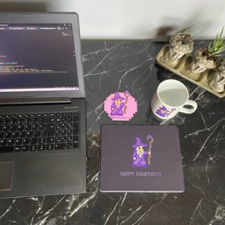 Open Sourcerer Mouse Pad