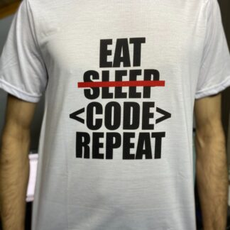 Eat Sleep Code Repeat T-Shirt